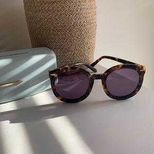 Karen Walker Super Duper Sunglasses Tortoiseshell